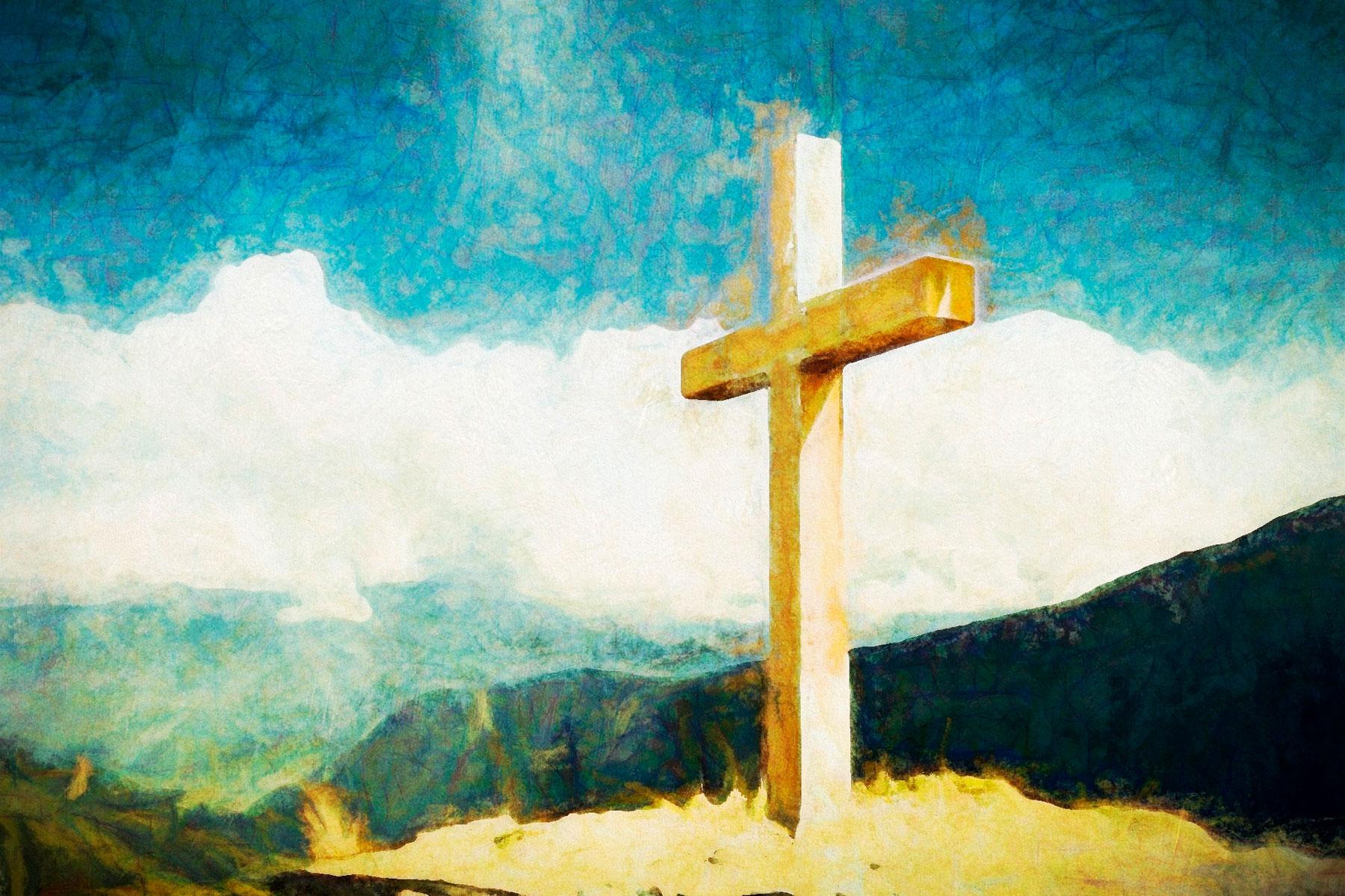 leeres Kreuz