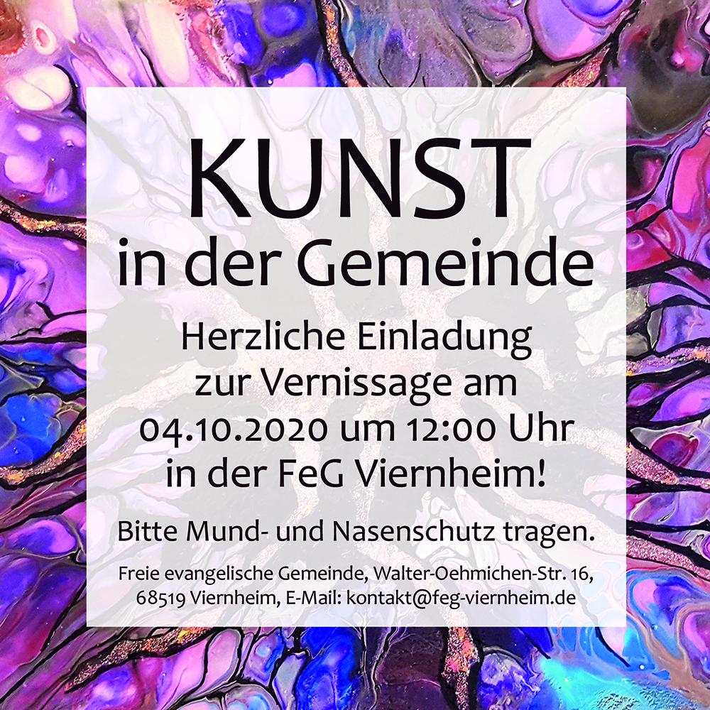 Ausstellung Kunst in der Gemeinde